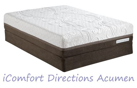 Serta Sleeper Model Names by Serta Icomfort Directions Acumen Memory Foam Mattress With