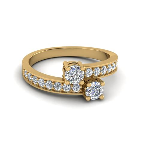sapphire 2 pave colored engagement ring in