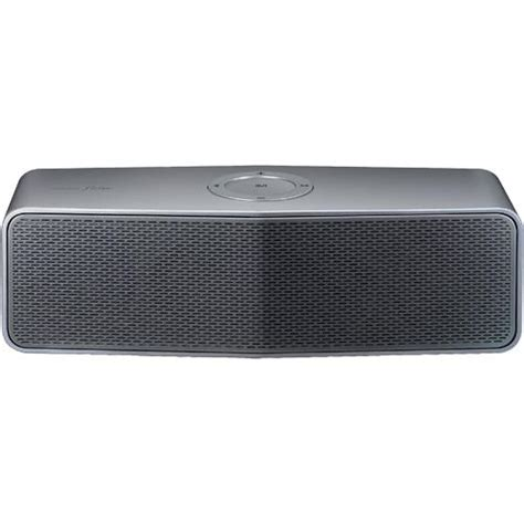 Speaker Bluetooth Lg Lg Np7550 Portable Bluetooth Speaker Silver Brandsmart Usa