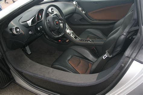 mclaren supercar interior mp12c gallery