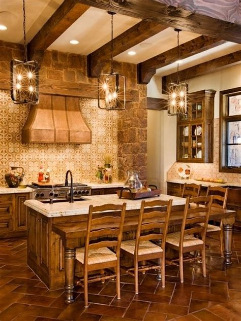 texas home decor ideas spanish influence kitchen texas hill country decorating