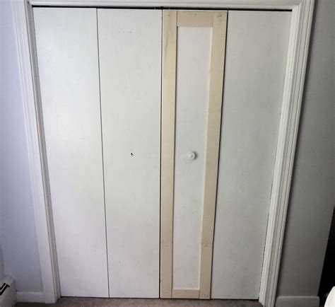 Remodelaholic Bi Fold To Paneled French Door Closet Makeover How To Adjust Closet Doors