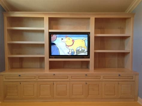 Ideas For Maple Bookcase Design Custom Maple Cabinets And Bookshelves