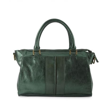 Ut1402 Glossy Green Handbag liebeskind molly glossy metallic suede leather bag in aston cocaranti