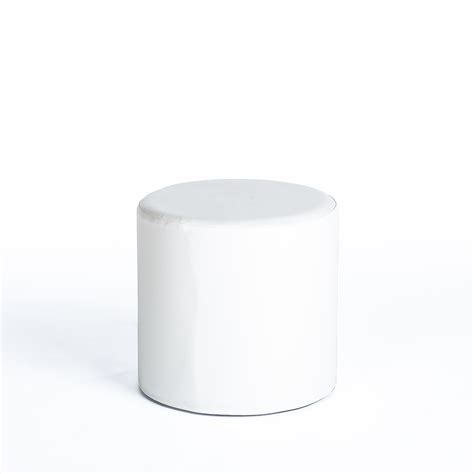 white faux leather ottoman ottoman white faux leather encore events rentals