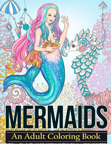 mermaid coloring book colouring book mermaids