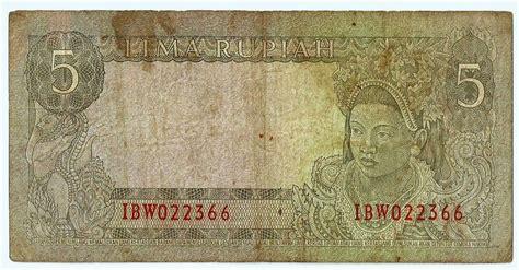 Uang Lama 1 Rupiah Tahun 1960 uang kuno seri soekarno tahun 1960 dan 1964 borneo