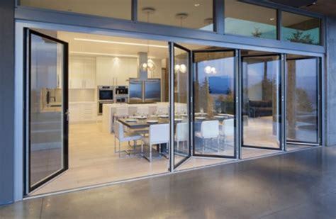 folding window walls folding glass wall systems for the home pinterest