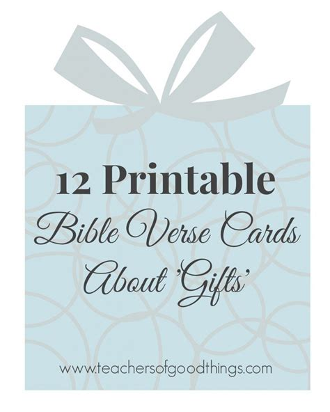 bible verses about christmas and family printable gift themed bible verse cards
