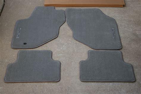 Taurus Floor Mats by New Ford Taurus Oem Floor Mats Gray 4 Pc 96 97 98 07 Ebay
