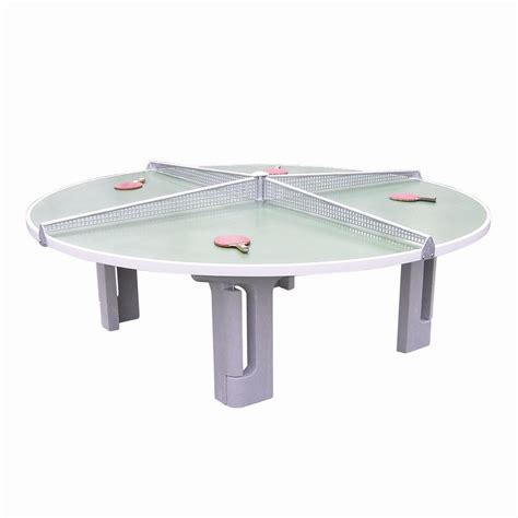 Concrete Table Tennis by Butterfly R2000 Concrete Table Tennis Table