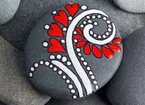 A Practical Pantied Valentines by Painted Rocks How For February Project You Rock