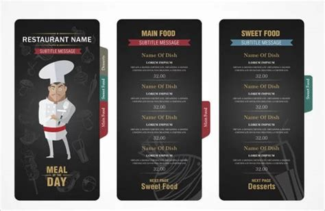 small menu template 9 small restaurant menu designs templates free