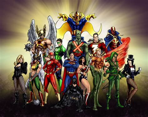 imagenes hd justice league the original justice league by randomality85 on deviantart