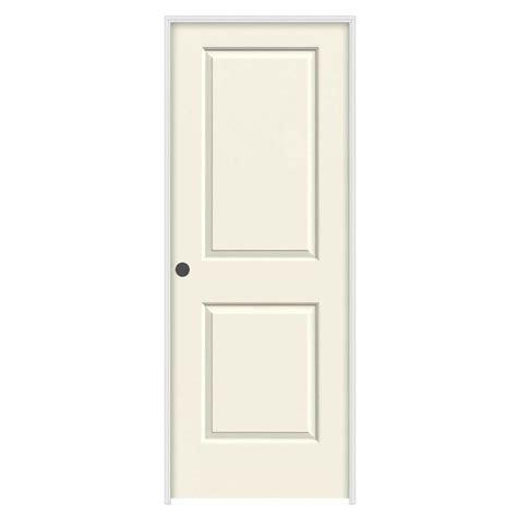 38 Interior Door Jeld Wen 36 In X 80 In Molded Smooth 2 Panel Square Vanilla Solid Composite Single