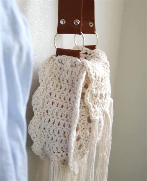 crochet pattern for boho bag boho tassel crochet bag free pattern persia lou