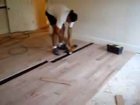 Installing Hardwood Floors Next To Existing Hardwood Hardwood Floor Installation