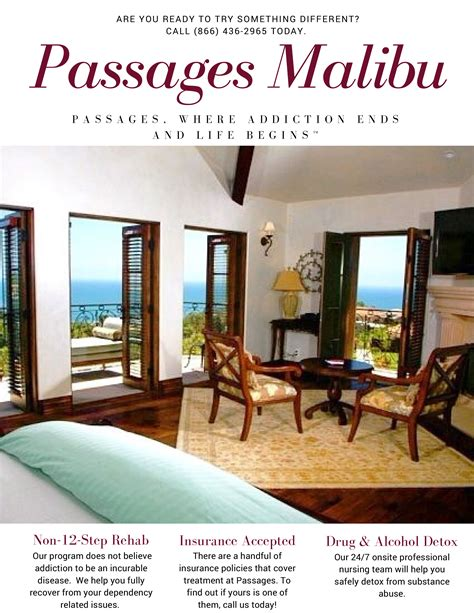 Passages Malibu Our Detox by How To Prepare For Inpatient Rehab Passages Reflections