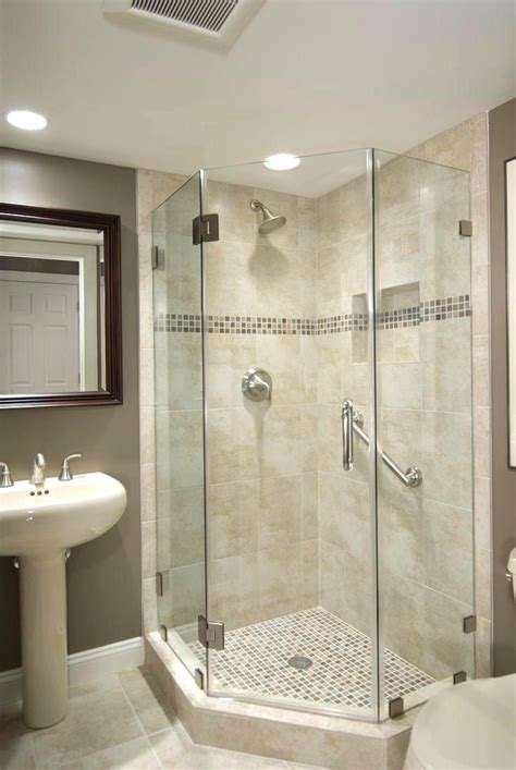 phenomenal bathroom corner walk shower ideas est bathroom
