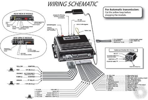 car wiring diagrams for remote starter get free image