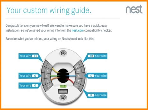 nest thermostat wiring diagram wiring forums
