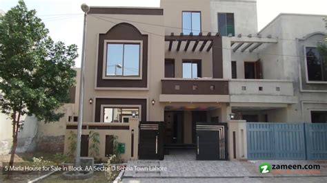 2 Story House Designs by 5 Marla House Is Available For Sale In Bahria Town Lahore