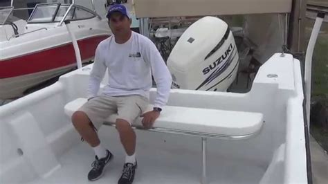 marine folding bench seat folding rear bench seat youtube