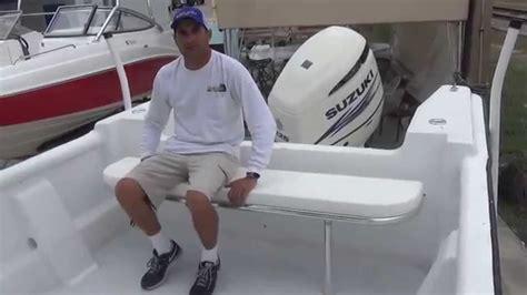 side folding boat seats folding rear bench seat youtube