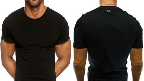 black round neck t shirt in india shopclues online