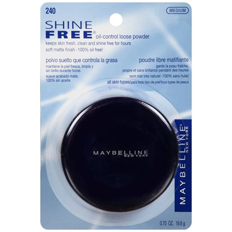 Maybelline New York Shine Free Powder maybelline new york shine free powder