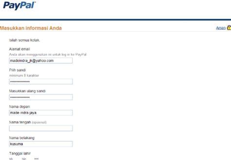 buat akun paypal gratis tanpa kartu kredit cara daftar paypal tanpa kartu kredit mudah dan gratis