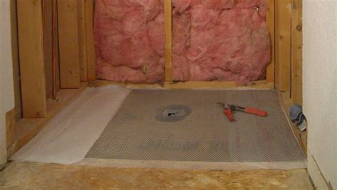 how to build floor how to create a shower floor part 1