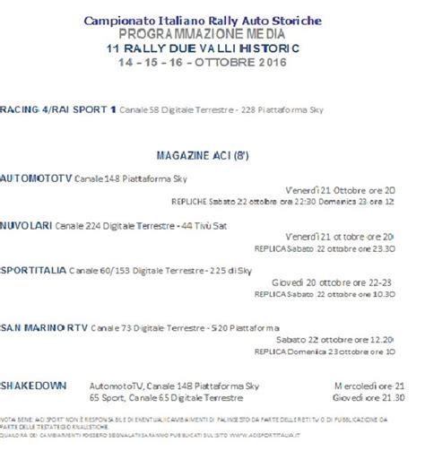 uffici aci verona rally due valli historic 2016 elenco iscritti tabella