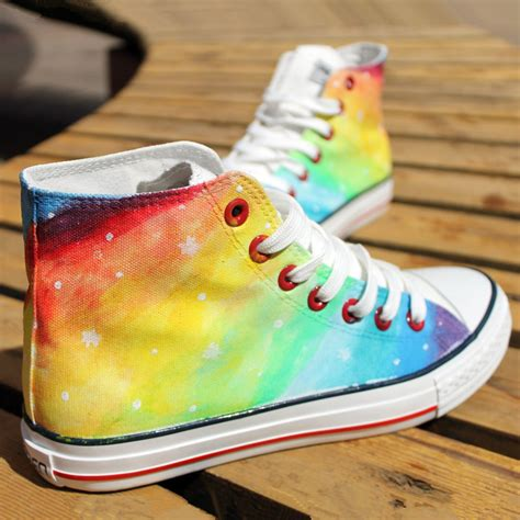 colorful canvas shoes on luulla