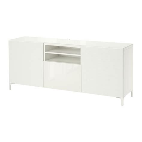 tv bench white gloss best 197 tv bench laxviken white selsviken high gloss white 180x40x74 cm ikea