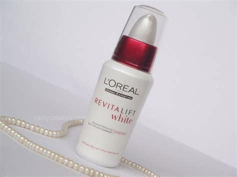 Harga L Oreal Revitalift White Essence l oreal revitalift white essence review vanitycasebox