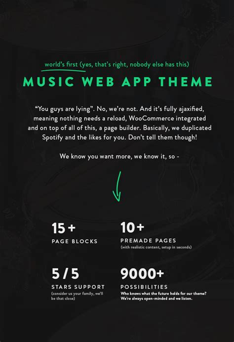 theme music download free sura a music web app wordpress theme music and bands