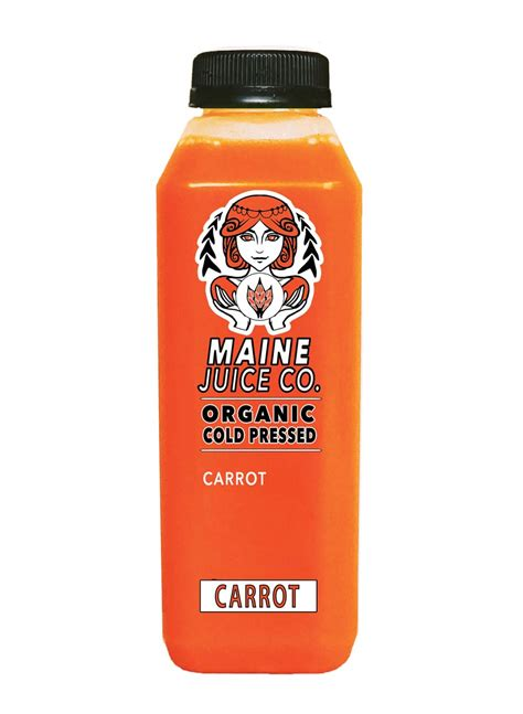 Cold Pressed Juice Ruby Root carrot maine juice co
