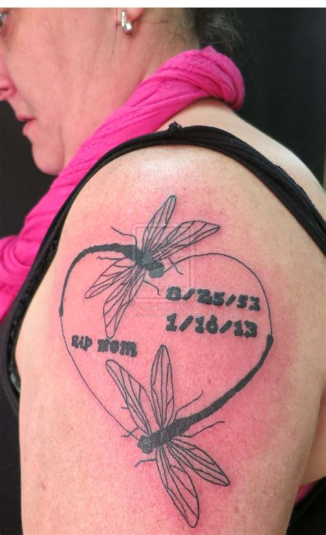 rip mom tattoo by jadedxink on deviantart