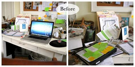 organize my desk office at work simple organizing tips home holiday