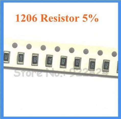 Resistor Smd 1206 105r resistor smd 1206 330 ohms 1 4w 5 arduino 100p 231 s r 11 99 em mercado livre