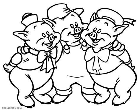 printable coloring pages three little pigs free printable pig coloring pages for kids cool2bkids