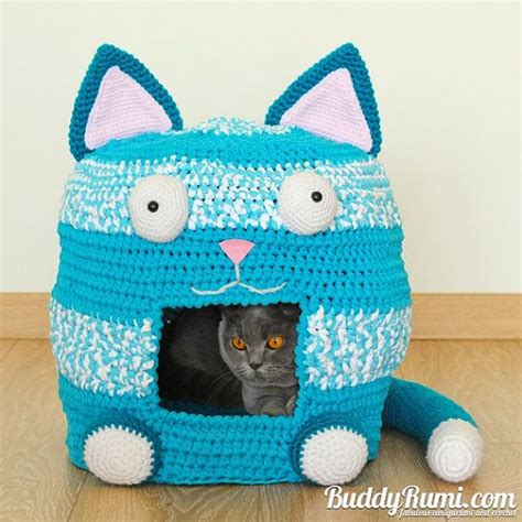 crochet cat bed 25 best ideas about crochet cat beds on pinterest crochet pet crochet cat toys and