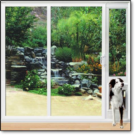 all vinyl patio pet door beautiful sophisticated secure