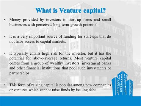Ppt On Venture Capital For Mba Students by Venture Capital Presentation Entrepreneurship Bba Mantra
