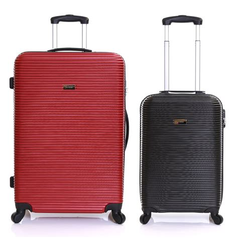 large cabin baggage large small cabin shell travel trolley