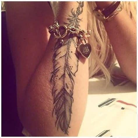 feather tattoo gun eagle feather tattoo for girl s arm tattooshunter com