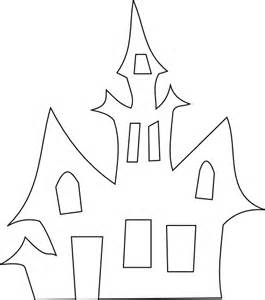 Haunted House Outline by Scary House Silhouette Clip At Clker Vector Clip Royalty Free Domain