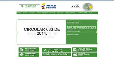 plataforma digital del centro nacional de comercio exterior cencoex jeses s a procesos de exportacion e importacion