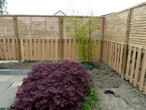 contemporary fence japanese garden wealden heartwood
